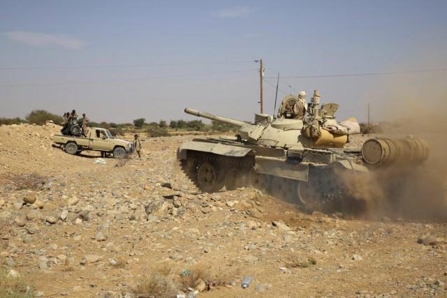 Les troupes fidèles au président Abd Rabbo Mansour... (PHOTO ABDULLAH AL-QADRY, AFP)