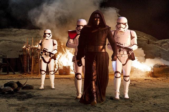 Le film Star Wars - Le réveil de... (Fournie par Lucasfilms 2015)