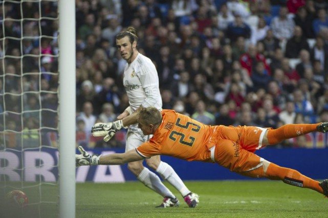 Gareth Bale a marqué quatre buts.... (PHOTO CURTO DE LA TORRE, AFP)