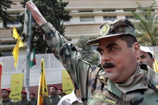 Samir Kantarétait qualifié de «doyen des prisonniers libanais»... (PHOTO DARKO BANDIC, ARCHIVES AP)