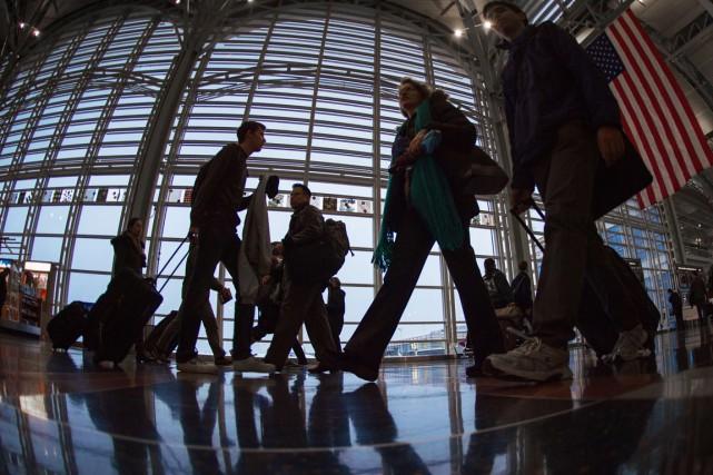 Les touristes de 38pays, dont 30 en Europe,... (PHOTO PAUL J. RICHARDS, ARCHIVES AFP)