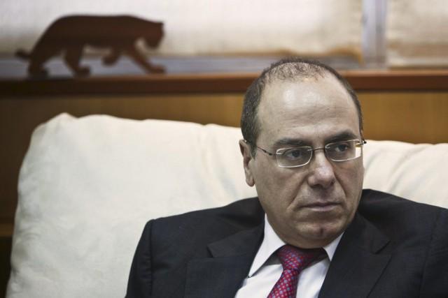 Le ministre israélien de l'Intérieur Sylvan Shalom... (PHOTO NIR ELIAS, ARCHIVES REUTERS)