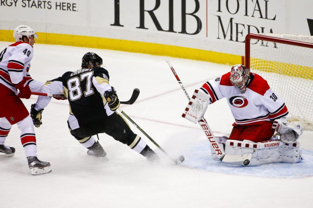 Sidney Crosby a récolté 22 points en 32 matchs.... (Photo Gene J. Puskar, AP)