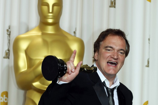 Quentin Tarantino a remporté deux Oscars du meilleur... (ARCHIVES REUTERS)