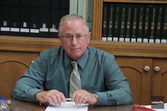 Le maire de Lac-Brome,Richard Burcombe... (Janick Marois, Archives La Voix de l'Est)