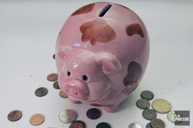 L'avantage d'un REER est que l'argent cotisé aujourd'hui... (Archives, La Presse)