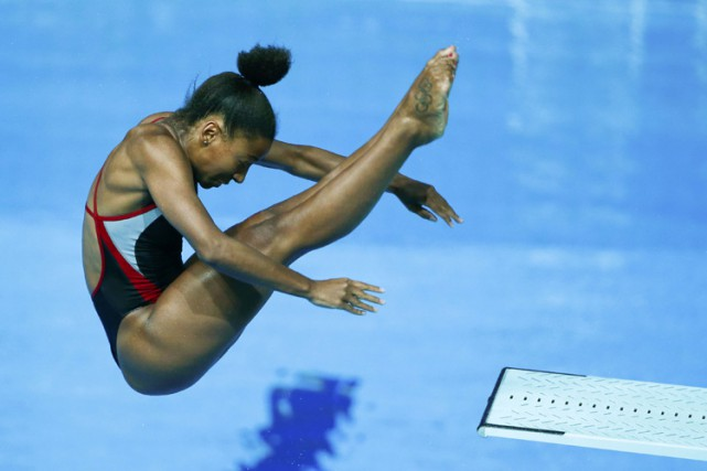 Jennifer Abel... (ARCHIVES REUTERS)