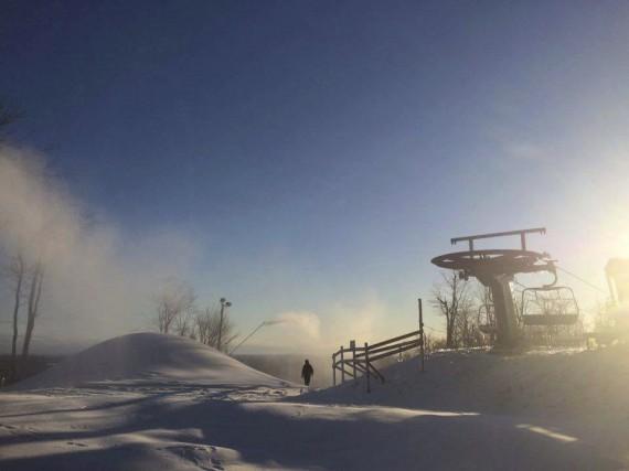 Le centre de glisse Vallée du Parc ouvrira... (Vallée du Parc)