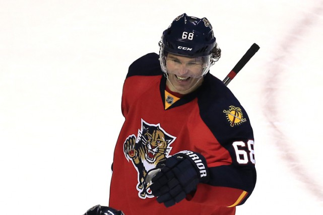 Jaromir Jagr... (PHOTO REUTERS)