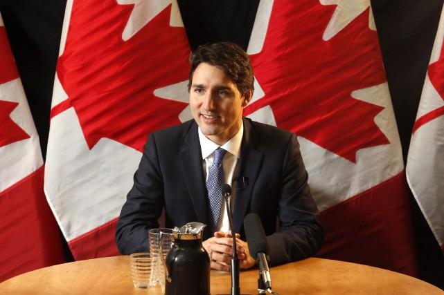 Justin Trudeau a fait du réengagement du Canada... (La Presse Canadienne)
