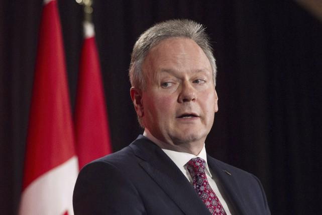 Le gouverneur de la Banque du Canada, Stephen... (La Presse Canadienne, Chris Young)