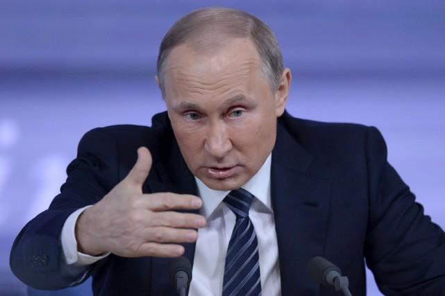 Poutine ne s'inquiète pas du réchauffement climatique et... (AFP)