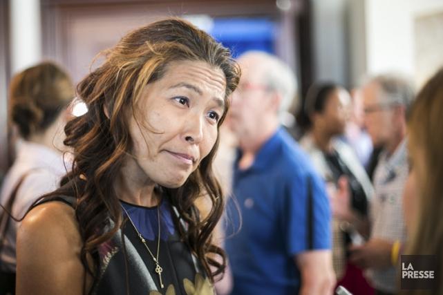 Lu Chan Khuong a été élue à la... (PHOTO HUGO-SÉBASTIEN AUBERT, ARCHIVES LA PRESSE)