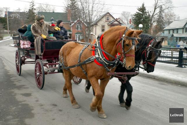 Après des succès relatifs cet été, l'initiative «Le Vieux-Hull à cheval»... (Martin Roy, LeDroit)