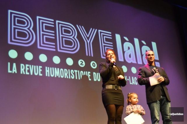 Stéphanie Gagné et Paul Champoux, de chez Jim... (Photo Le Quotidien, Dominique Gobeil)