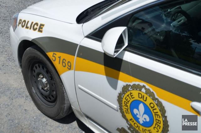 Les policiers de la Sûreté du Québec ont... (PHOTO ARCHIVES LA PRESSE)