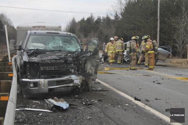L'identité de la victime de l'accident mortel survenu sur la route 204, à... (Archives La Tribune)