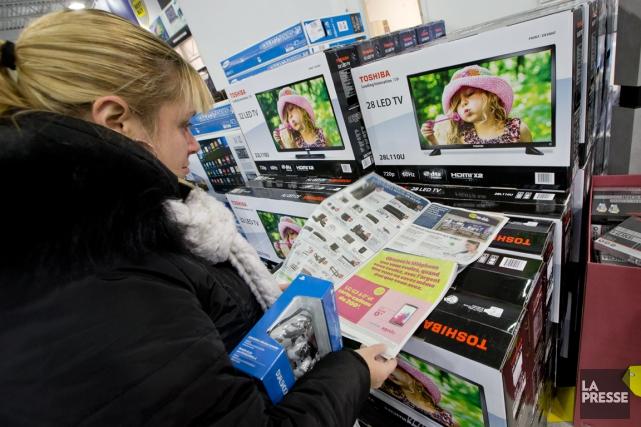 Près de 90% des commerces canadiens ont enregistré... (PHOTO DAVID BOILY, ARCHIVES LA PRESSE)