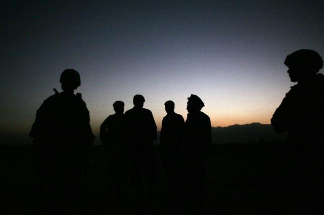 L'attaque, revendiquée par les insurgés, s'est produite non... (PHOTO MAYA ALLERUZZO, ARCHIVES AP)