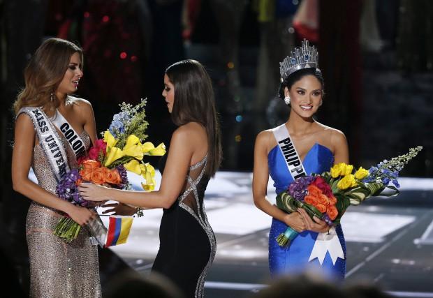La couronne étant attribuée durant quelques minutes à... (Associated Press, John Locher)