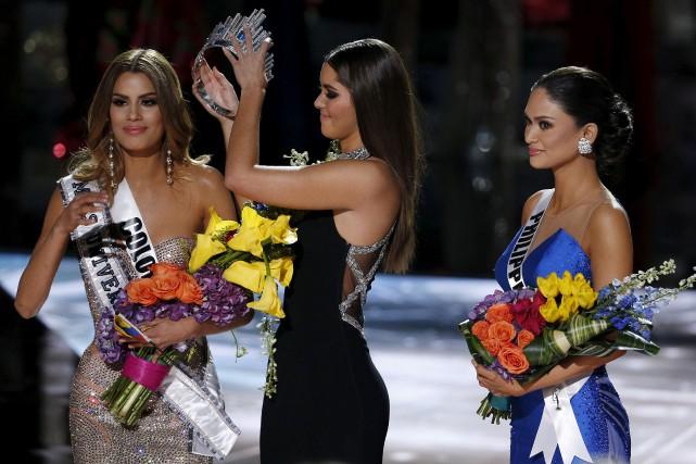 Miss Philippines, Pia Alonzo Wurtzbach,a été élue Miss... (Associated Press)