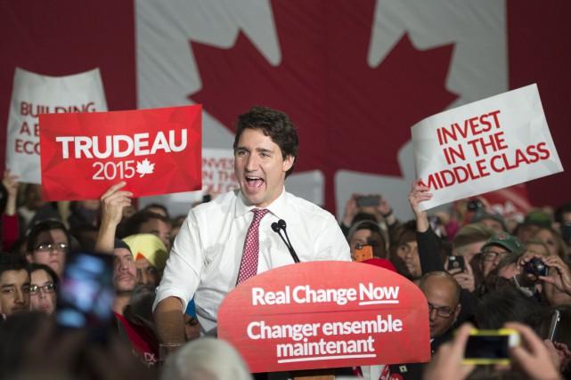 Justin Trudeau a surpris en campagne électorale.... (Photothèque, La Presse Canadienne Paul Chiasson)