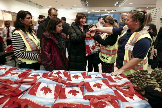 «La décision d'ouvrir le Canada aux réfugiés syriens... (PHOTO MARK BLINCH, REUTERS)