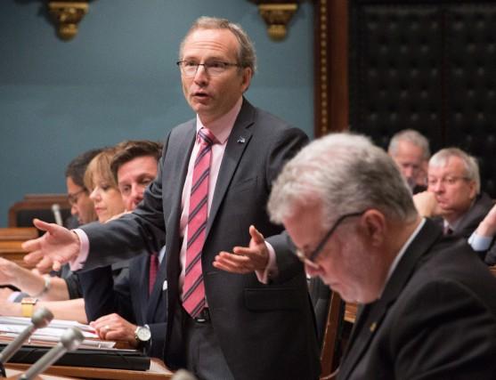 Le président du Conseil du trésor Martin Coiteux... (PHOTO JACQUES BOISSINOT, ARCHIVES LA PRESSE CANADIENNE)