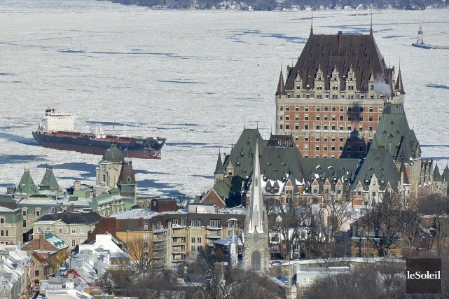 Pour 2016, l'Office du tourisme de Québec s'attend... (Photothèque Le Soleil, Yan Doublet)