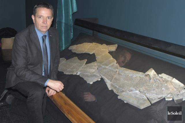 Le Dr Richard Cloutier, paléontologue à l'Université du... (Photothèque Le Soleil)