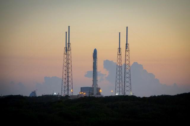 La société SpaceX du milliardaire américain Elon Musk a réussi lundi pour la... (Photo AFP)