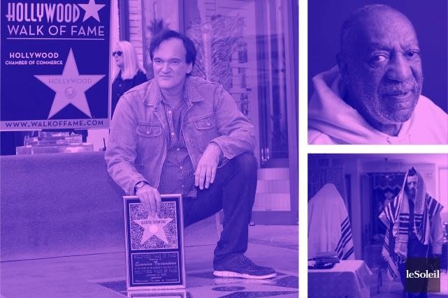 Tarantino reçoit son étoile à Hollywood (Infographie Le Soleil)