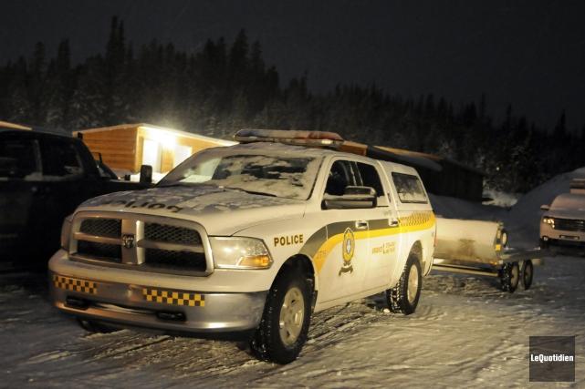Un motoneigiste a perdu la vie samedi soir dans le Parc des Monts-Valin, au... (PHOTO ARCHIVES LE QUOTIDIEN)