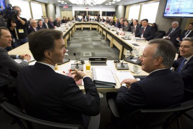 Le ministre des Finances du Canada, Bill Morneau... (La Presse Canadienne)