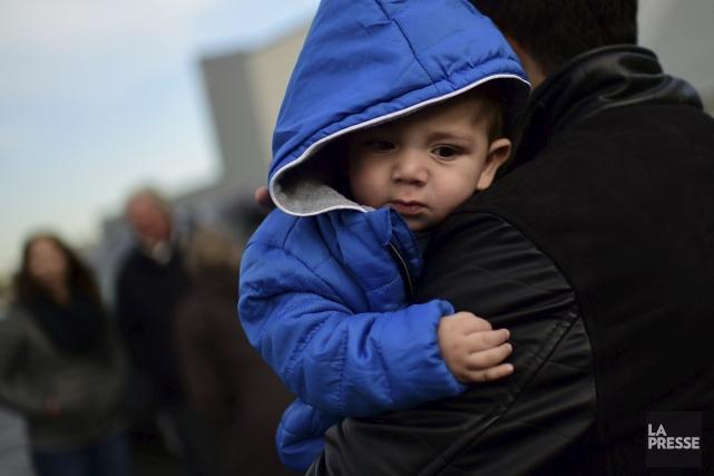La vague de réfugiés qui devait déferler sur... (AFP)