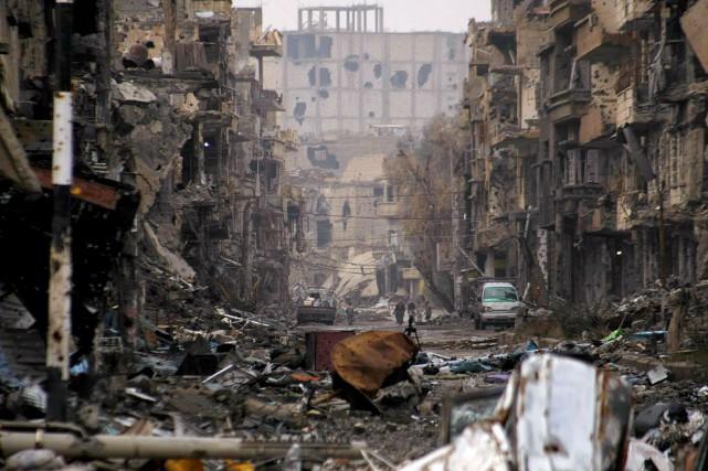 La région de Deir Ezzor a été particulièrement... (PHOTO AHMAD ABOUD, ARCHIVES AFP)