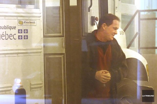 Éric Lamontagne est détenu à perpétuité pour le... (Archives, La Tribune)