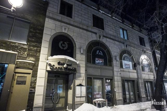 Le Théâtre de la Petite Italie devait ouvrir... (Photo Olivier PontBriand, archives La Presse)
