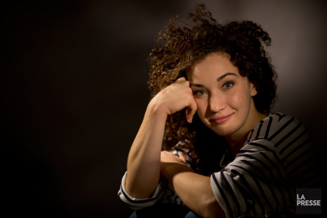 Alexandra Royer a été happée par le cirque... (Photo David Boily, La Presse)