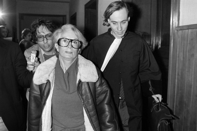 Fernande Grudet, alias «Madame Claude», lors de son... (PHOTO GEORGES GOBET, ARCHIVES AFP)