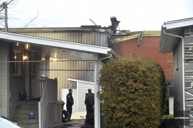 Une enquête a été ouverte à la suite d'un incendie jugé suspect survenu dans la... (Imacom, Maxime Picard)