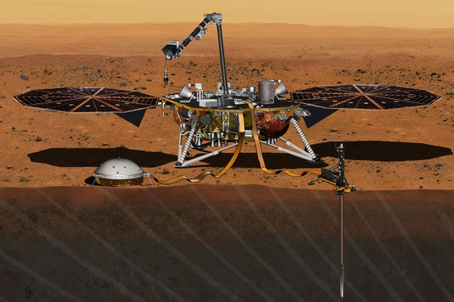 La NASA avait annoncé en août 2012 le... (ILLUSTRATION FOURNIE PAR LA NASA)