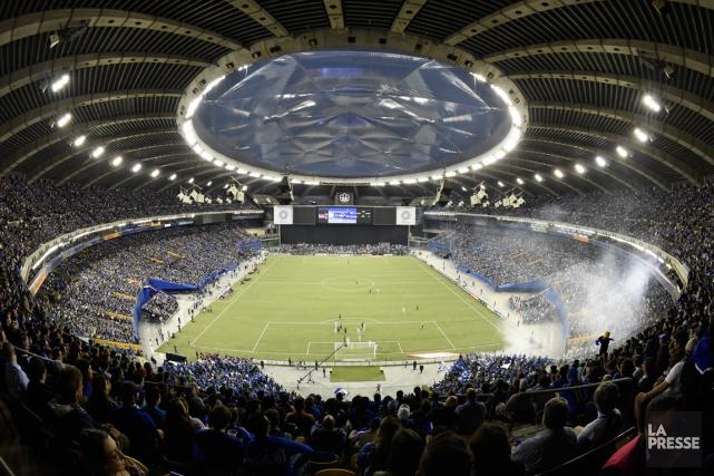 L'Impact de Montréal a annoncé mardi qu'il disputera ses deux premiers matchs à... (Photo Bernard Brault, archives La Presse)