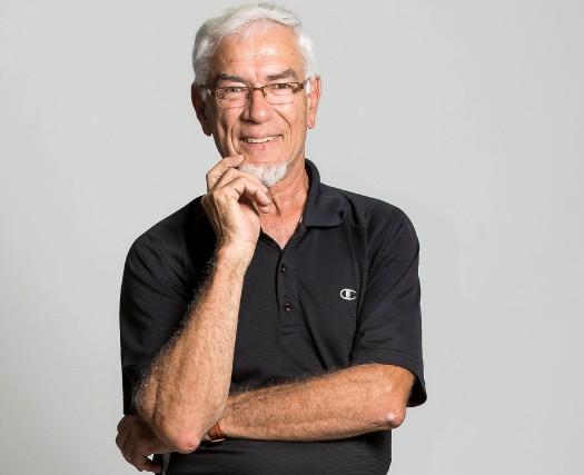 Robert Gagné. Optimiste, retraité, mordant dans la vie,... (SPECTRE MÉDIA)