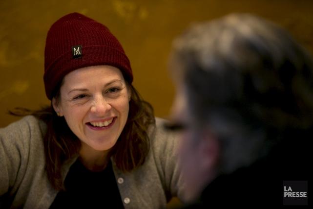 Sophie Cadieux jouera deux pièces de théâtre presque... (La Presse, archives)