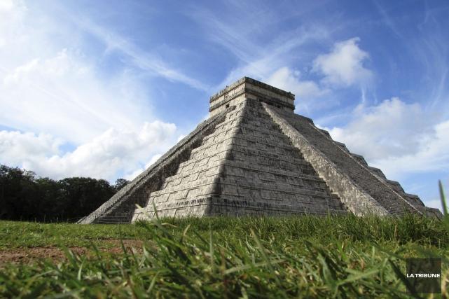 Chichen Iza, au Mexique, était la dernière des... (La Tribune, Jonathan Custeau)