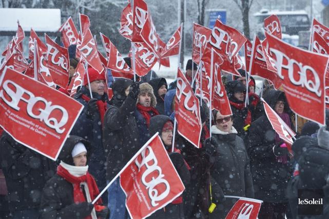 Le Syndicat des professionnelles et professionnels du gouvernement (SPGQ) n'est... (Archives, Le Soleil)