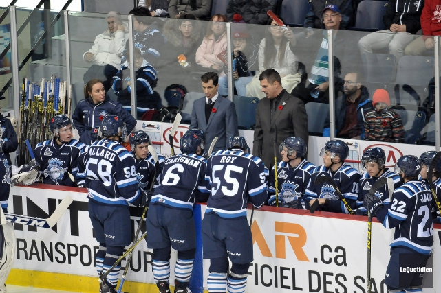 Avec la pause du temps des Fêtes dans la Ligue de hockey junior majeur du... (Archives Le Quotidien, Rocket Lavoie)