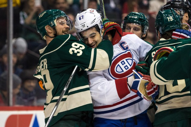 Relisez le clavardage du match entre le Canadien et le Wild du Minnesota avec... (PHOTO REUTERS)