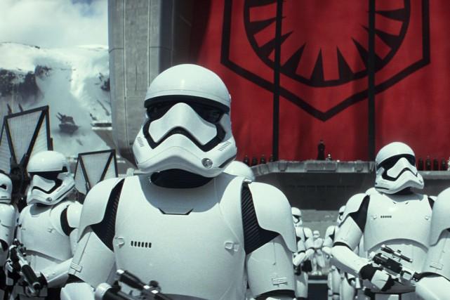 Une scène du filmStar Wars : le réveil... (AP)